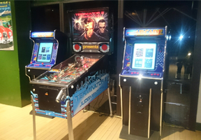 Pinball retro hire