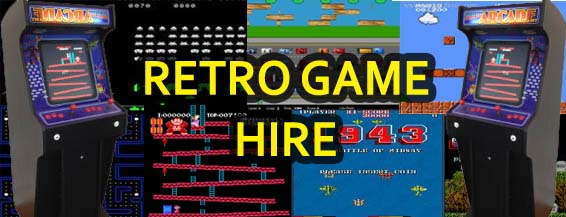 Retro Games Hire